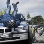Cycliste renversé sur la RD81