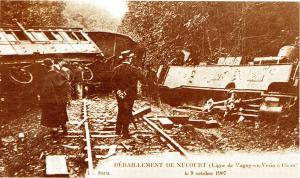 Nucourt - Déraillement du 9 octobre 1907