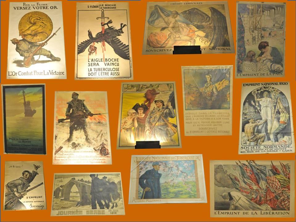 13 Affiches 1914 - 1918