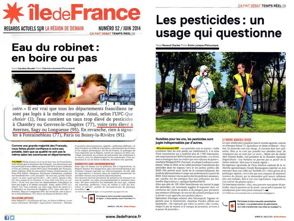 Ile de France num 52 et 58